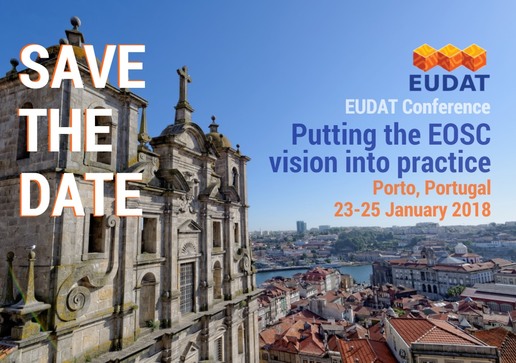 Save the date_ EUDAT Conference Porto