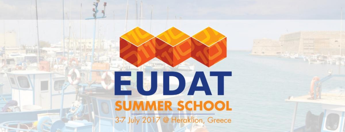 EUDAT Summer School for data scientists and data management scientists 3-7 July 2017